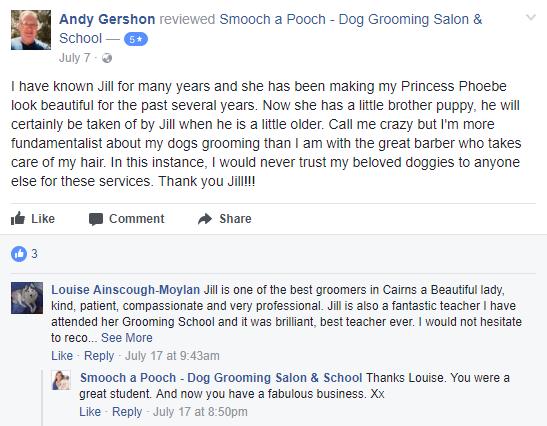 Smooch a Pooch Testimonial 1