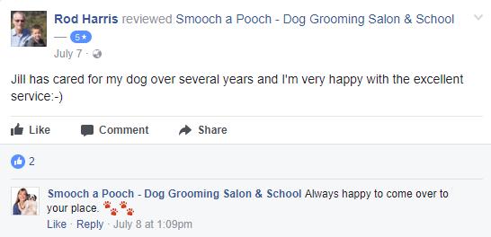 Smooch a Pooch Testimonial 10