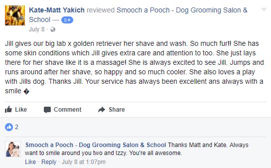 Smooch a Pooch Testimonial 2