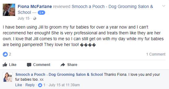 Smooch a Pooch Testimonial 3