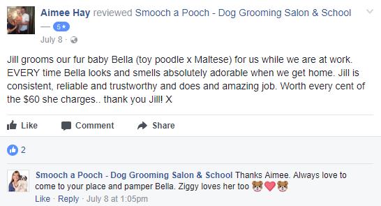 Smooch a Pooch Testimonial 5