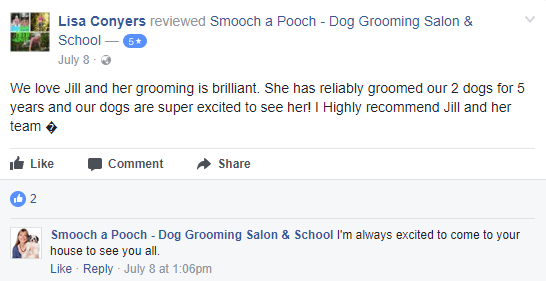 Smooch a Pooch Testimonial 7