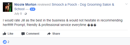 Smooch a Pooch Testimonial 8